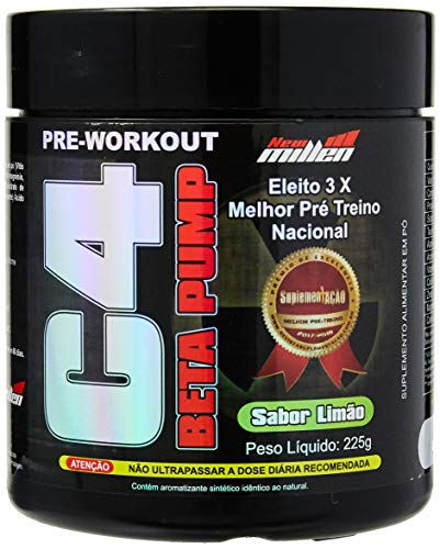 C4 Beta Pump Extreme Pre-Workout, New Millen, Limão, 225g