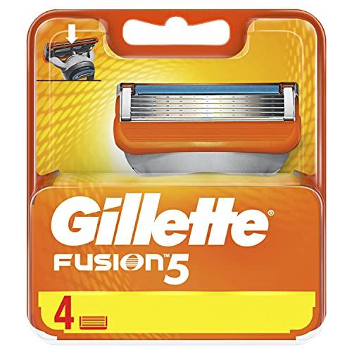 Gillette Fusion Manual Cuchillas–Pack de 4