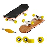 ecmqs professionnelle type de roulement Roues Skid Pad érable Finger Skateboard alliage stent Roulement de Roue touche nouveauté enfants jouet