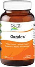 Pure Essence Candex - Natural Candida Cleanse Support Supplement for Yeast Infection with No Die Off Reaction - 120 Capsules