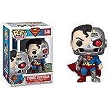 QToys Funko Pop! Superman #346 Cyborg Superman Chibi...
