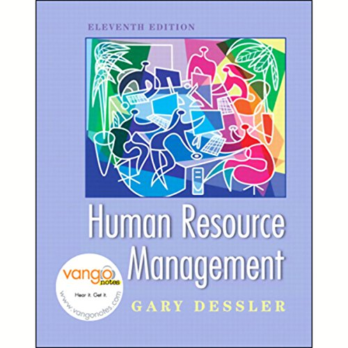 VangoNotes for Human Resource Management, 11/e cover art
