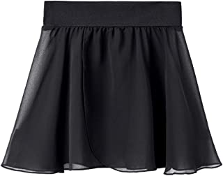 STELLE Ballet/Dance Chiffon Wrap Skirt for Toddler/Girls/Women with Tie Waist