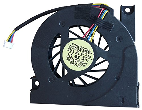 WishingDeals Ventilador de refrigeración para ordenador portátil Asus X50 X50C X50Gl X50M...