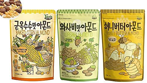 [3個セット]ハニーバターカシューナッツ 210g X 3袋  Honey Butter Armond