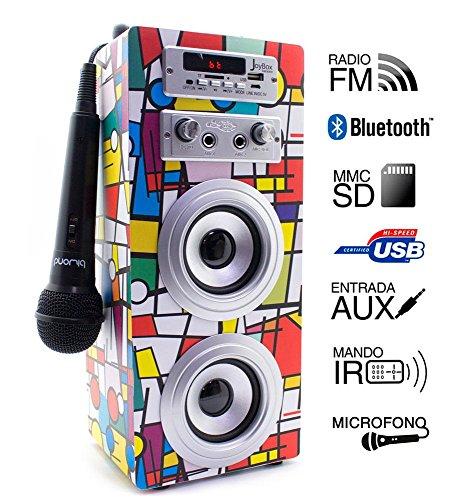 JoyBox Karaoke Bluetooth Picasso Biwond