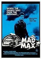 マッドマックスMad Maxオーストラリア版 復刻A3ポスター