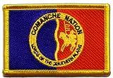 Flaggen Aufnäher Indianer Comanche Fahne Patch + gratis
