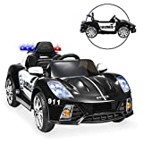 Best Choice Products 12V 2-Speed Kids Police Sports Car Ride On w/ AUX Port, Parent Control, Working...