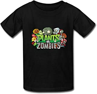 AHHACHI Custom Unisex Plants vs Zombies Youth Tee Shirt for Boy Girl