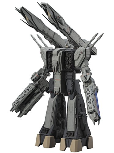 1/4000 SDF-1 Macross ship The forced attack type Theater edition Plastic model.