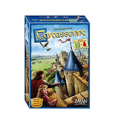 Carcassonne for Party and Family Board Game (inglés)