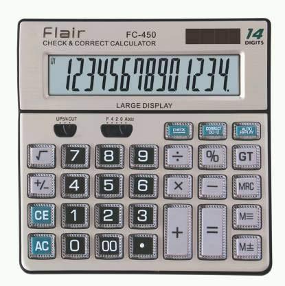 Flair Electronic Calculator FC-450