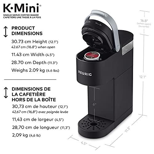 Cafetière K-Mini Keurig, Noir Mat, Modèle 611247373590 - 2
