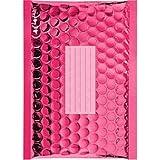 100 Enveloppes à Bulles Métalisées - 210X150 mm - C/0 - Qualité Premium (Pink)