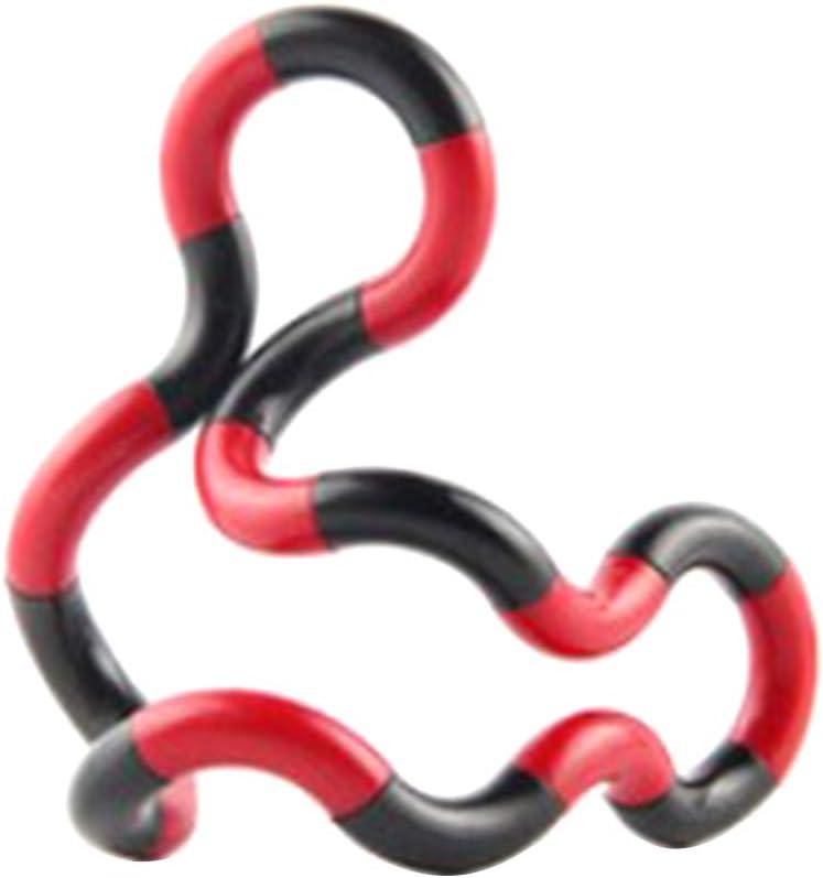 ZKHONG Fidget Toy Fidget Twister Handspielzeug Stress Relief Feeling Winding Toy Fidget Twister Hand Toys Fidget Twister Handspielzeug Sensorik Spielzeug Strukturiertes Finger Twist Fadenspiel 2