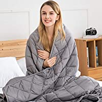 jaymag Weighted Blanket 7kg for Adults Kids Children Autism Therapy Blankets for Anti Anxiety Insomnia Stree Relief,...