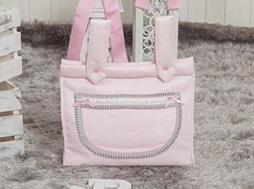 Babyline Bombón - Bolso panera para silla de paseo, color rosa