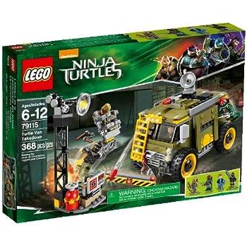 LEGO Ninja Turtles 79115 Turtle Van Takedown Building Set