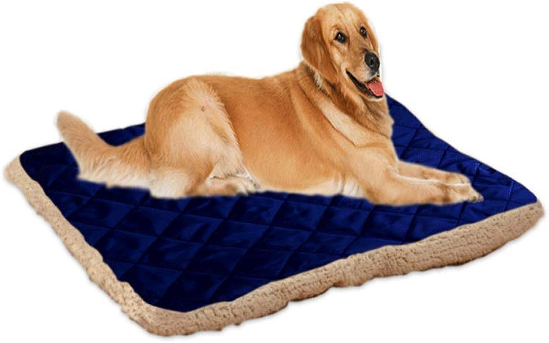 KYCD pet bed Pet Mat, Pet Nest ,Seasons Universal Cool Waterproof Biteresistant Pet Supplies Pad Cat Mat (color   A, Size   M)
