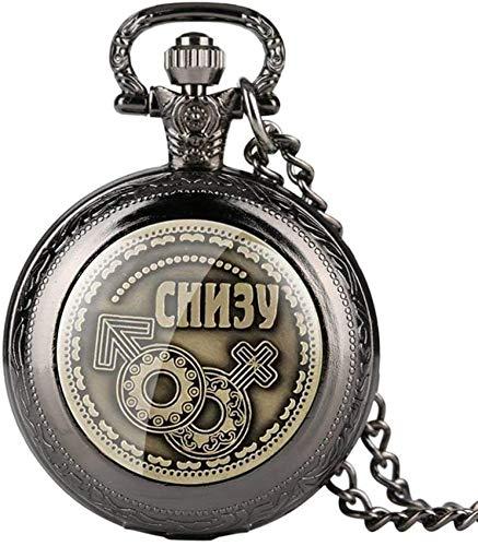 懐中時計、ロシアのコインホームデコレーションコインBitcoinsレプリカアンティーク模造ホームパーティーの装飾クォーツ懐中時計ギフト