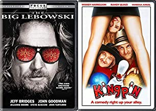 The Farrelly Bros + The Coen Brothers Make Funny Movies With Bowling : Kingpin + The Big Lebowski DVD Bundle