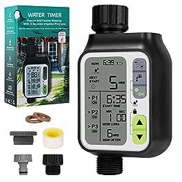 Bearbro Minuterie D'irrigation Automatique,Minuterie Arrosage Automatique pour Jardin,Programmateur Arrosage Automatique…
