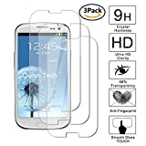 Guran [3 Pezzi] Pellicola Protettiva per Samsung Galaxy S3 / S3 Neo Smartphone Ultra Sottile Screen Protector in Vetro Temperato Film Ultra Resistente