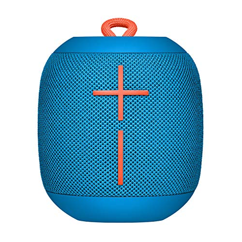 Ultimate ears wonderboom portable bluetooth speaker – ipx7 waterproof – 10-hour battery life - subzero blue