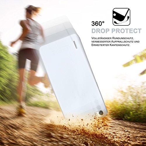 Ultra-Clear Case [Vollständig Transparent] passend für Huawei Honor 6   rutschfest und extrem dünn – Fast unsichtbar, Klar - 5