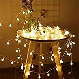 Luces de cadena LED bola de cerezo guirnalda de hadas batería / luces usb boda luces de cadena de navidad usb 3m30 leds