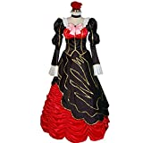 MYYH Anime Beatrice Cosplay Costume Fancy Renaissance Court Outfit Blouse Skirt Halloween