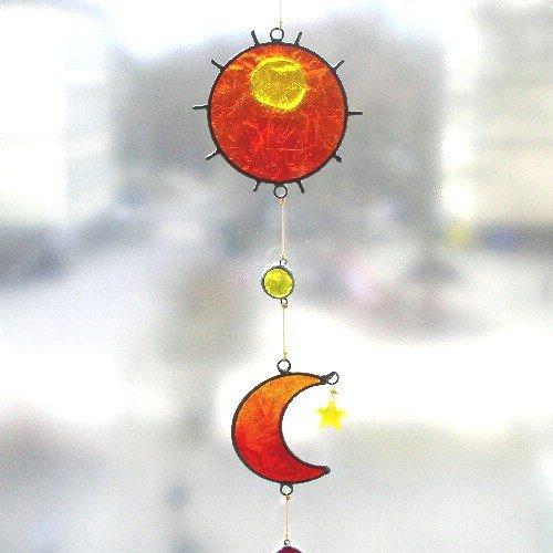 Suncatcher zon, maan en sterren