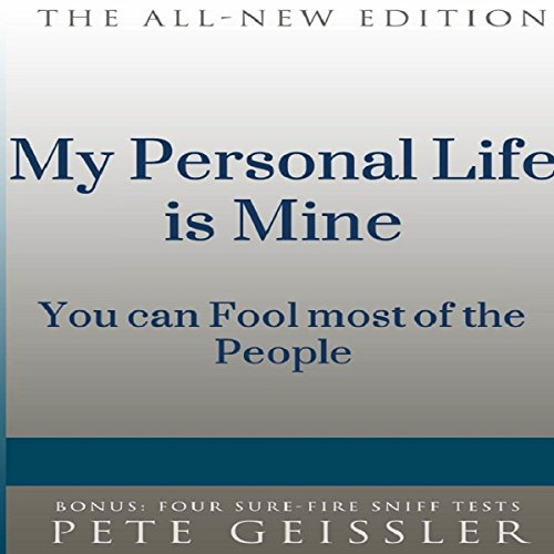 My Personal Life Is Mine audiobook cover art