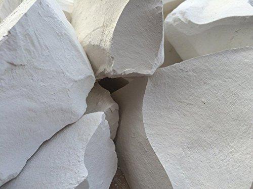 MONASTIC Essbare Kreide (Klumpe) Natur zum Essen (Lebensmittel) 210 g