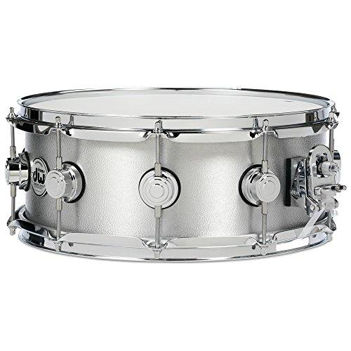 DW Collectors Series Aluminum Snare Drum Chrome Hardware 14 x 6.5 in.