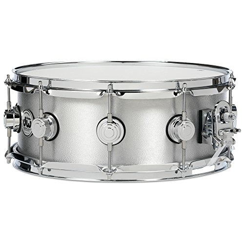 "DW 6.5"" x 14"" Aluminum Snare Drum with Chrome Hardware"