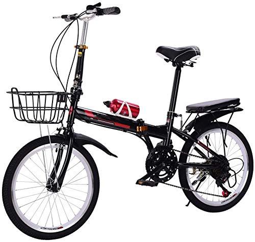 LYTLD Klappfahrrad, Tragbares City Faltrad Mini Kompaktfahrrad, rutschfest Und Verschleißfest, Höhenverstellbar