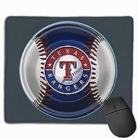 テキサスレンジャーズ野球 マウスパッド 25×30cm ノンスリップ 防水 ゲーミング おしゃれ マウスの精密度を上がる