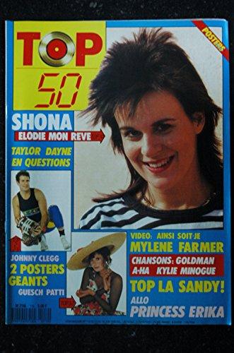 TOP 50 119 1988 SHONA ELODIE MON REVE JOHNNY CLEGG GUESCH PATTI MYLENE FARMER