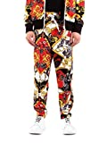 Versace Jeans Couture - Pantalón para hombre Multi A2GZA126-ZUP326 Print all Over Tess: S0851 500 Fleece...
