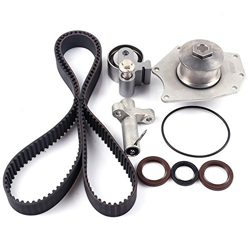 Engine Timing Part Belt Set Timing Belt Kits, SCITOO fit 2004 Pacifica 3.5L V6 SOHC 24v VIN 4 Replacement Timing Tools with Water Pump