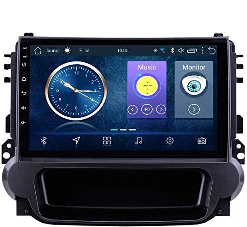 Android 8.1 - Radio de navegación GPS para Chevrolet Malibu 2012 – 2015, con DAB + CD DVD control en el volante, Bluetooth, USB, FM, 4 G, WiFi: 2 + 32 G