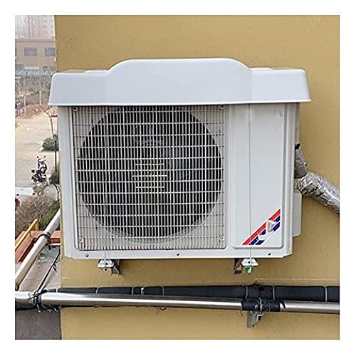 GAXQFEI Cubierta Protectora para Aire Acondicionado, 4 Mm de Grosor, Toldo de Plástico Duro de Alta Resistencia, a Prueba de Viento, a Prueba de Lluvia Y Protector Solar, Que Incluye Cierre de Cuerda