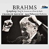 ブラームス:交響曲第1番&ハイドンの主題による変奏曲 - シャルル・ミュンシュ(指揮)日本フィル, ブラームス, シャルル・ミュンシュ