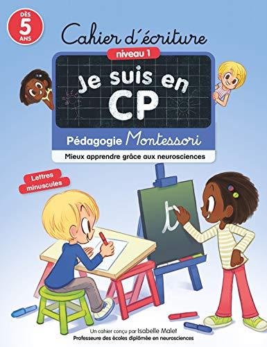 Cahier d'écriture CP méthode Montessori
