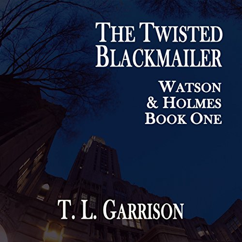 The Twisted Blackmailer audiobook cover art