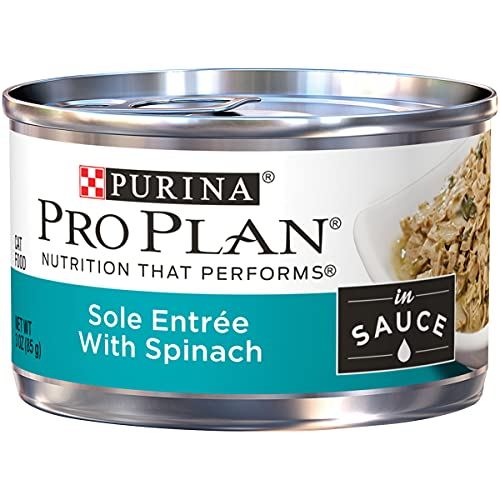 Purina Pro Plan Wet Cat Food, Sole Entree With...