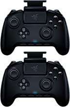 Razer RZ06-02800100-R3U1 Controle móvel para jogos Raiju para Android 4 Botões removíveis, pacote com 2