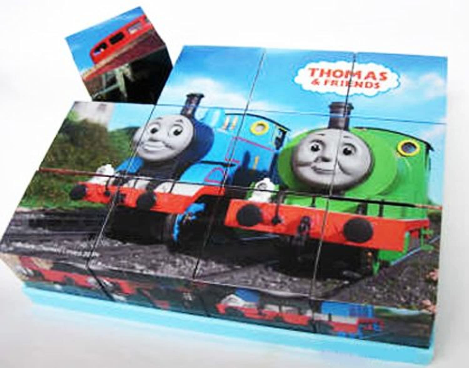 Thomas & Friends 3D Wood Puzzle   6 in 1 Puzzle